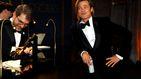 Lo que no se vio en los Oscar: de los nervios de Brad Pitt a los tacos de Bong Joon-ho