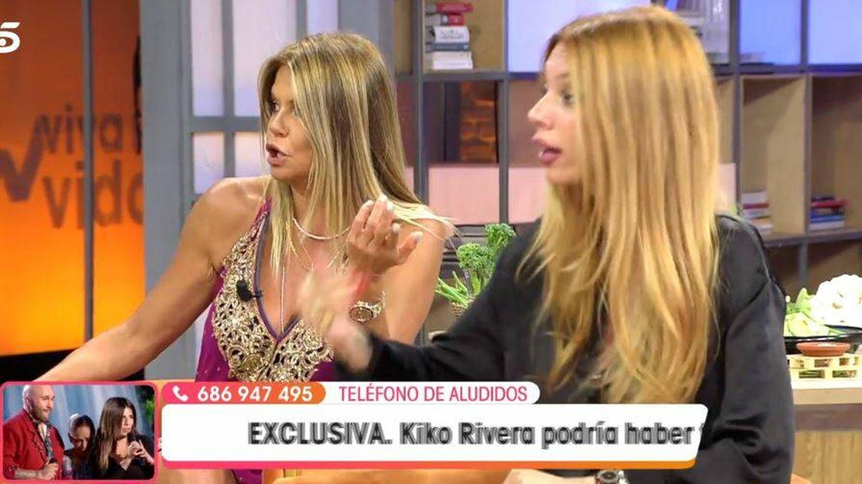 Makoke y Alejandra Rubio, en 'Viva la vida'. (Mediaset España)