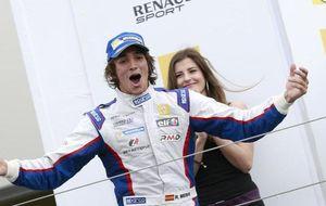 Merhi, al volante del Caterham en los primeros libres del GP de Japón