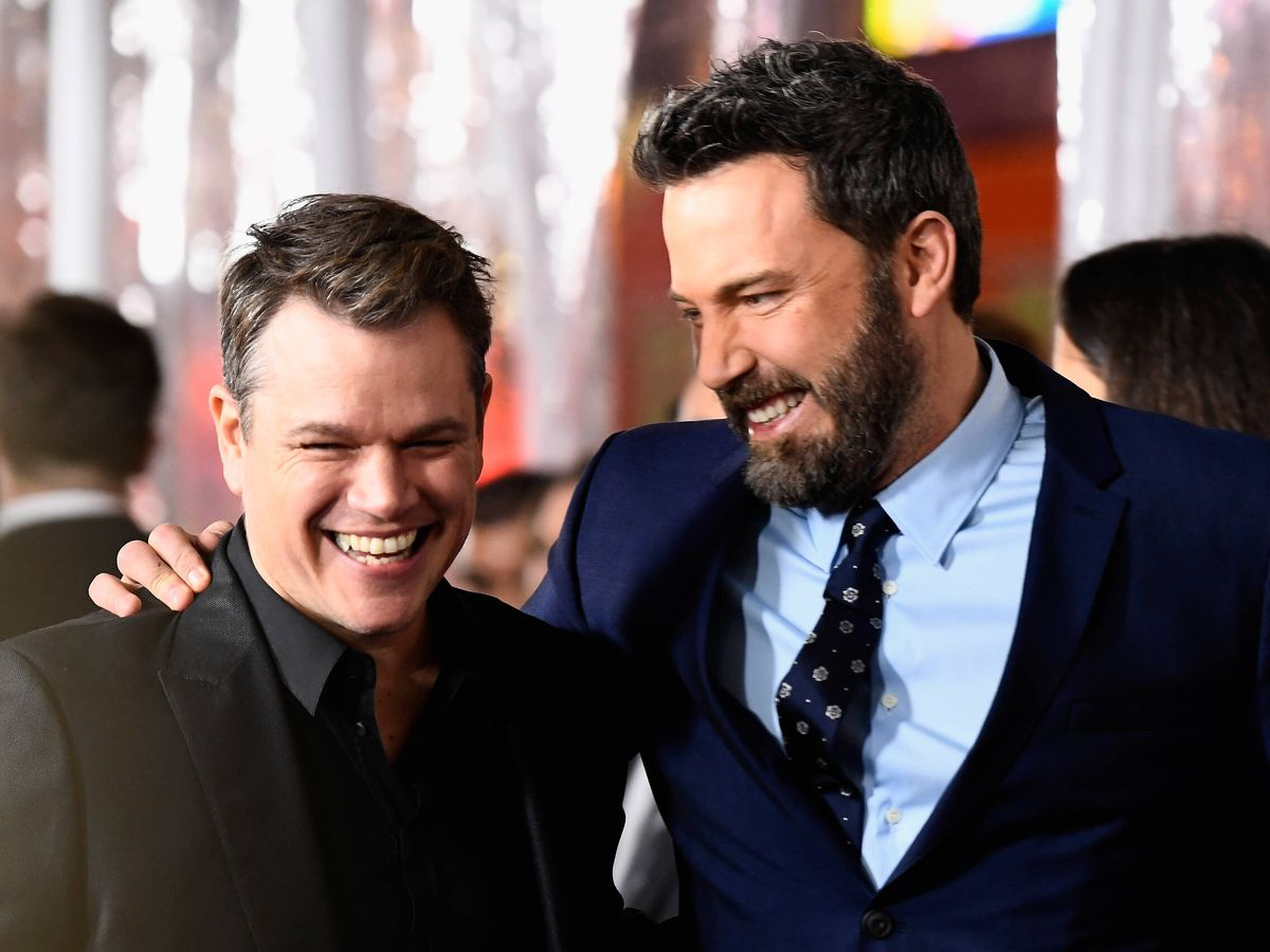 Foto: Matt Damon y Ben Affleck: BFF. (Getty)