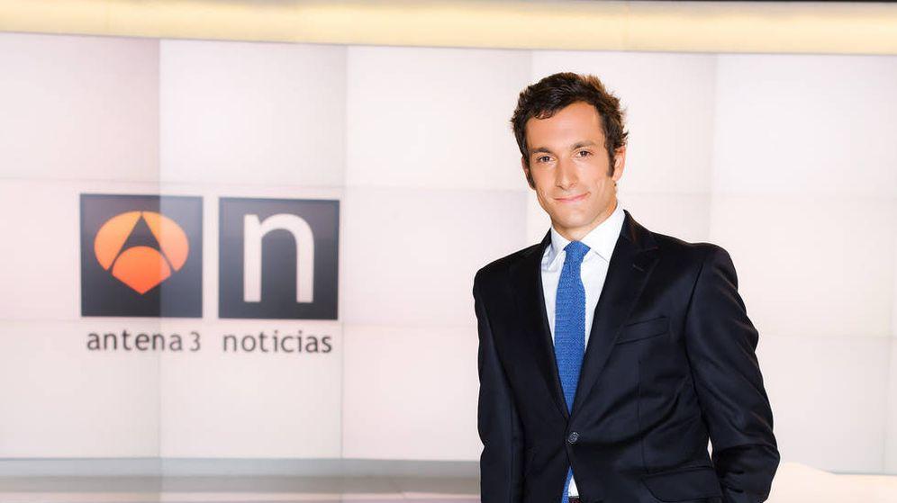 Foto: Álvaro Zancajo, hasta ahora presentador de 'Antena 3 noticias 2'.