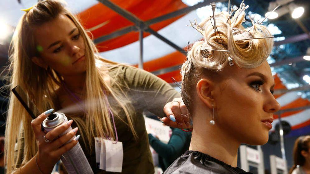 Foto: España tiene la mayor ratio de peluquerías de toda Europa.