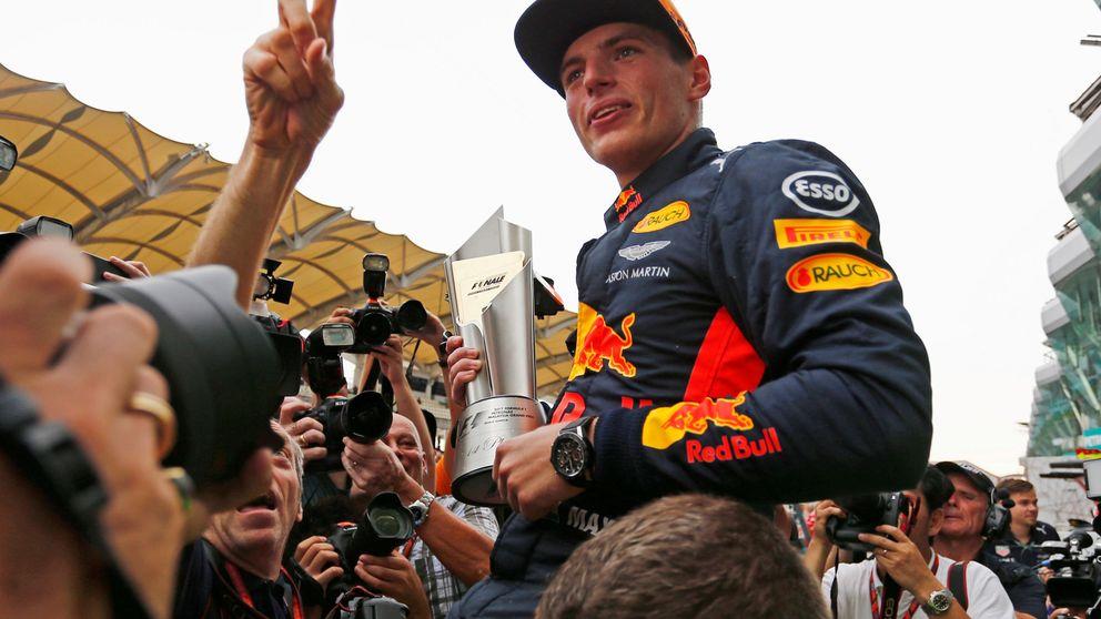 Drama de Ferrari, victoria de Verstappen y Hamilton se acerca al título