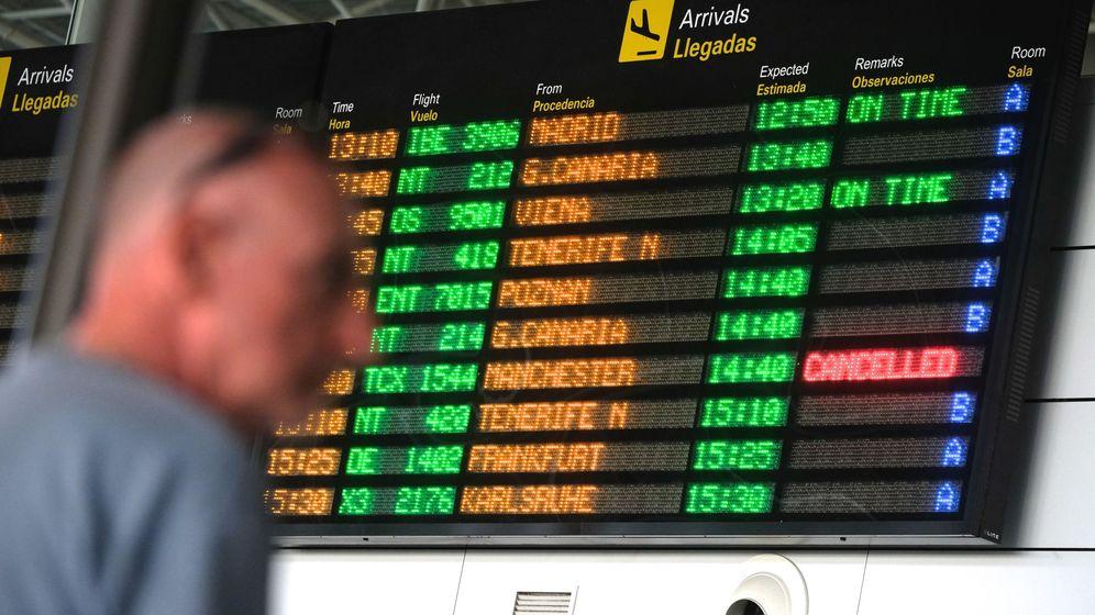Foto: Foto de archivo con vuelos cancelados. (EFE)