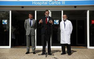 El ébola se cuela en el discurso de Rajoy, que felicita a los sanitarios españoles