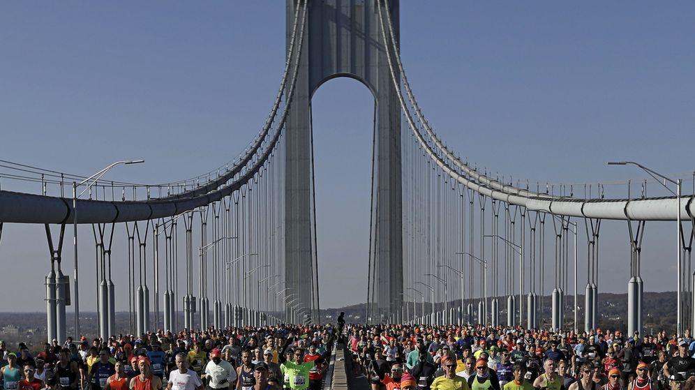 Foto: Correr la Maratón de Nueva York es uno de los sueños de miles de atletas cada año (EFE EPA/Peter Foley)