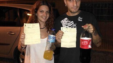 Multan a cuatro jóvenes de Lucena por beber refrescos y tomar pizza en la calle