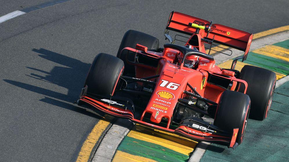 Foto: Leclerc durante el GP de Australia de Fórmula 1. (EFE)
