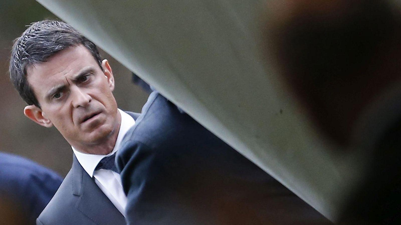 Foto: Manuel Valls, primer ministro francés (Efe).