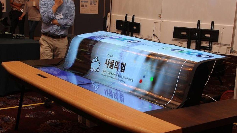 Transparente y flexible: este es uno de los primeros prototipos de tele del futuro