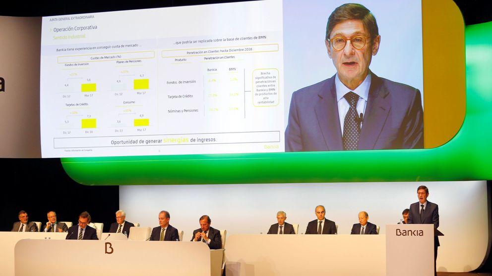 El FROB sondea a fondos para una venta exprés del 15% de Bankia