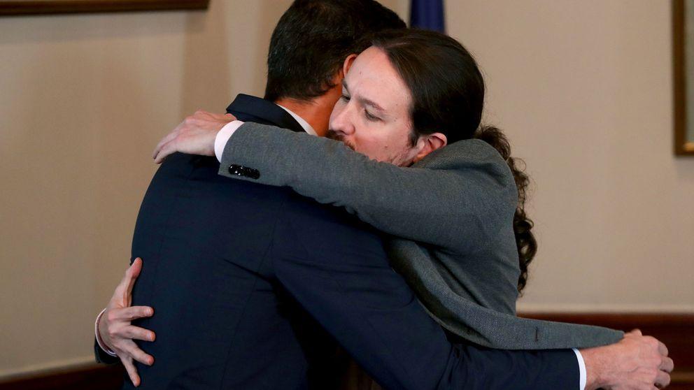 Sánchez cierra un preacuerdo de coalición con Podemos con Iglesias de vicepresidente