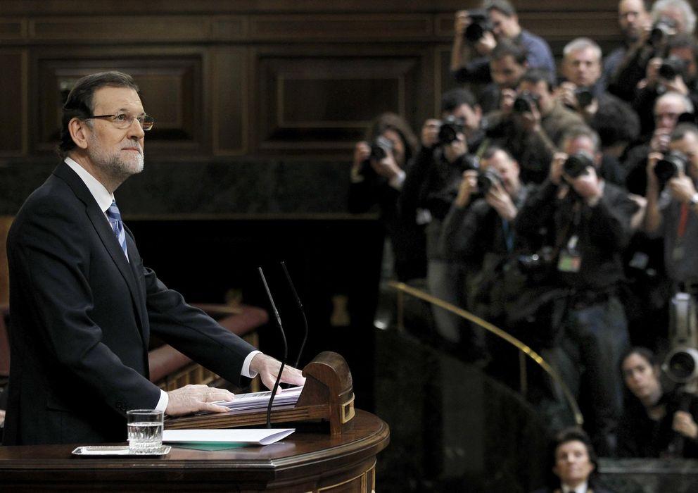 Foto: El presidente del Gobierno, Mariano Rajoy, durante el debate sobre el estado de la Nación (Efe)