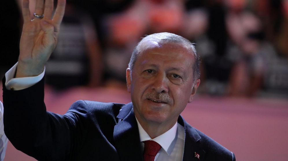 Foto: Tayyip Erdogan, presidente de Turquía. (Reuters)