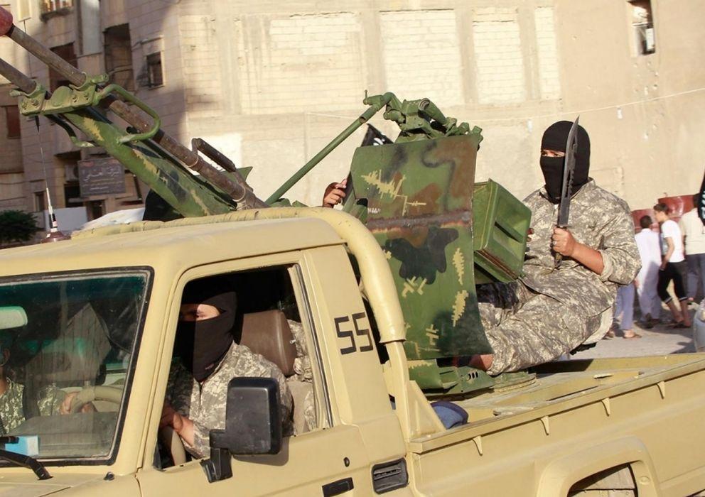 Foto: Yihadistasdel Estado Islámic. (Reuters)