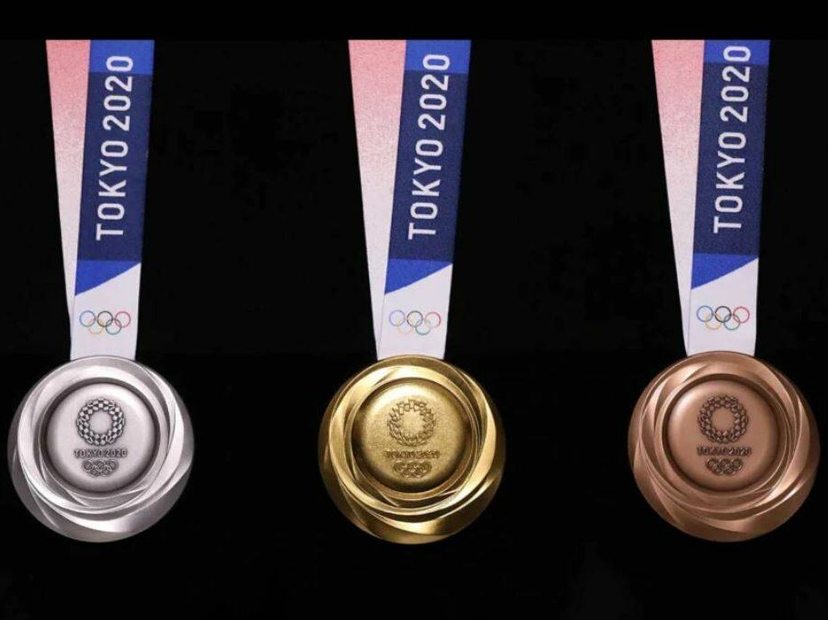 Foto: Las medallas olímpicas de Tokio 2020