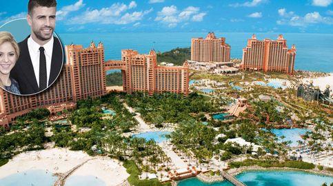 Piqué y Shakira disfrutan de sus vacaciones navideñas en el hotel más caro de Bahamas