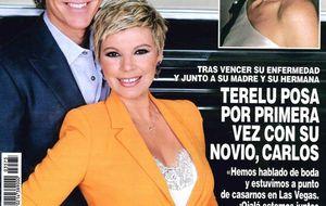 Foto: El kiosco de los miércoles: Terelu Campos posa con su novio