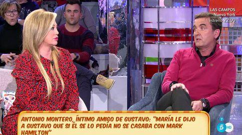 Montero ataca a Esteban recondándole las infidelidades de su exmarido y novio