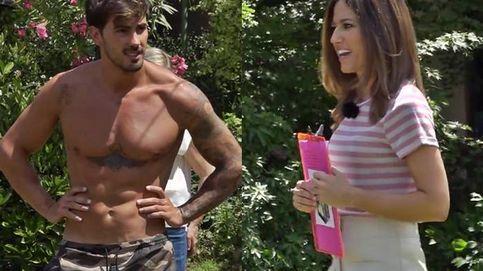 Nuria Marín se vuelve loca tras protagonizar la fantasía sexual de Iván en 'La casa fuerte'