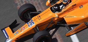 Post de Más de media carrera en la mochila de Alonso antes del último día de pruebas