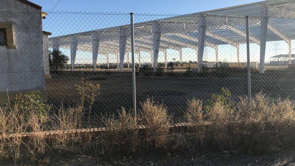Foto: Las obras de ampliación de Desguaces la Torre, en Torrejón de la Calzada.