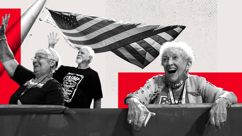 Florida, el estado de los 'agresivos jubilados blancos' donde no votar a Trump es tabú