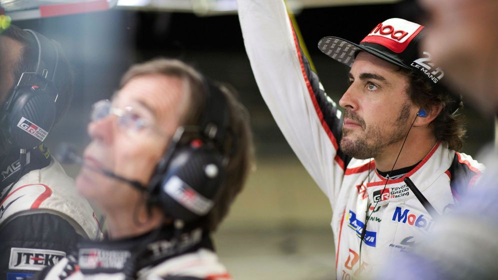 Foto: Fernando Alonso en las pasadas 1.000 Millas de Sebring. (EFE)