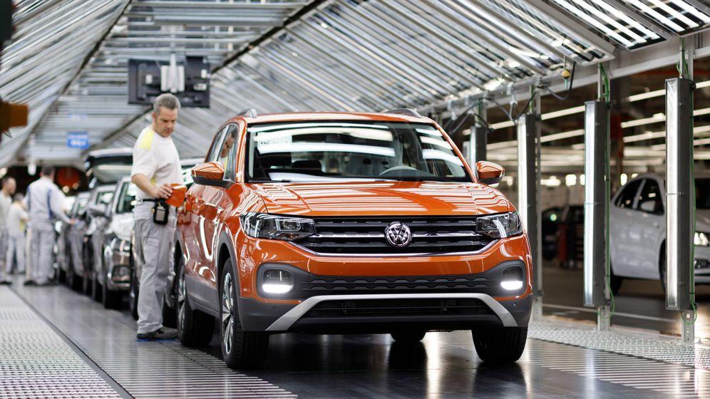 Foto: En la planta de Volkswagen en Landaben se fabrican el Polo y el T-Cross y se exporta el 90% de su producción.