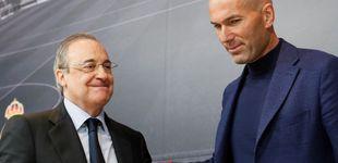 Post de El tiempo que tardará en explotar la mala relación de hierro entre Zidane y Florentino