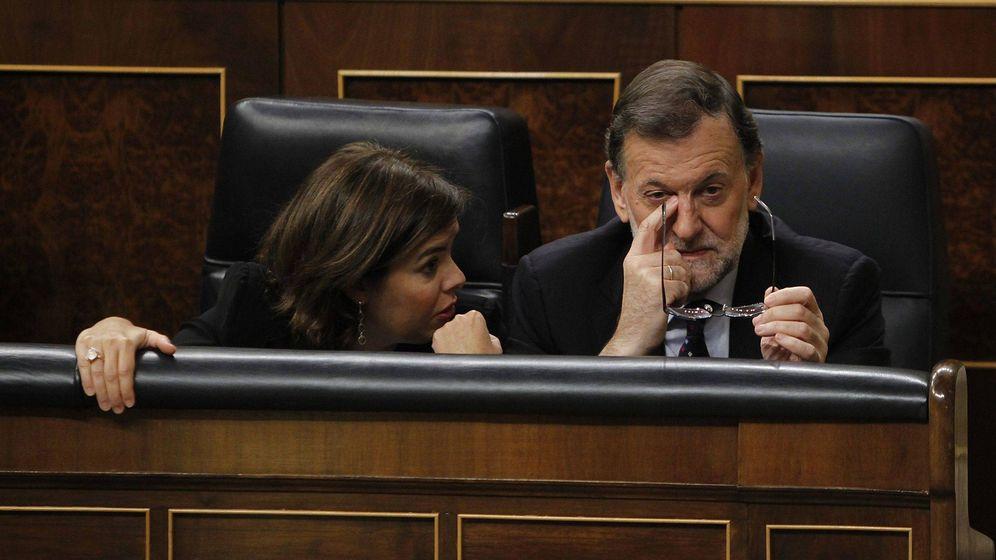 Foto: Mariano Rajoy anuncia su retirada del Partido Popular. (EFE)