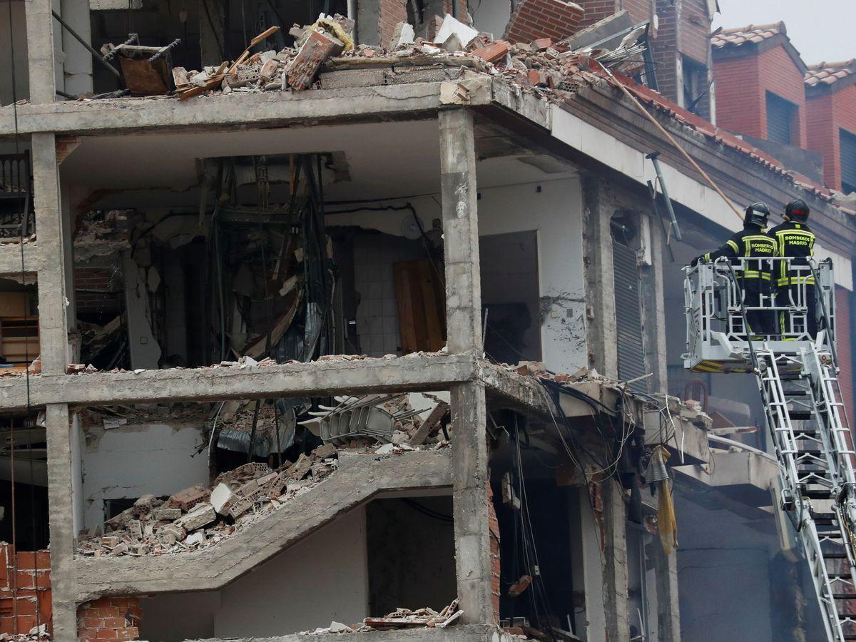 Foto: El edificio, tras la explosión. (Reuters)