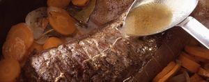 Un menú real sin su especialidad inglesa: el 'roast beef'