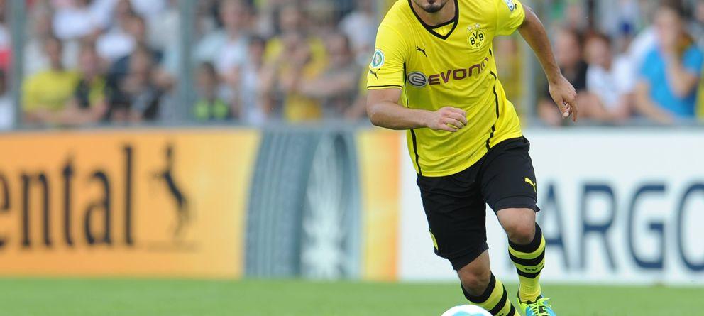 Foto: Gündogan, durante un partido con el Borussia Dortmund (EFE)