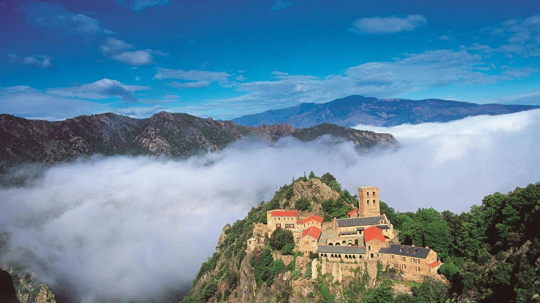 La abadía de San Martín de Canigó, otra razón para dejarse caer por aquí. (Foto: Turismo de Perpiñán)