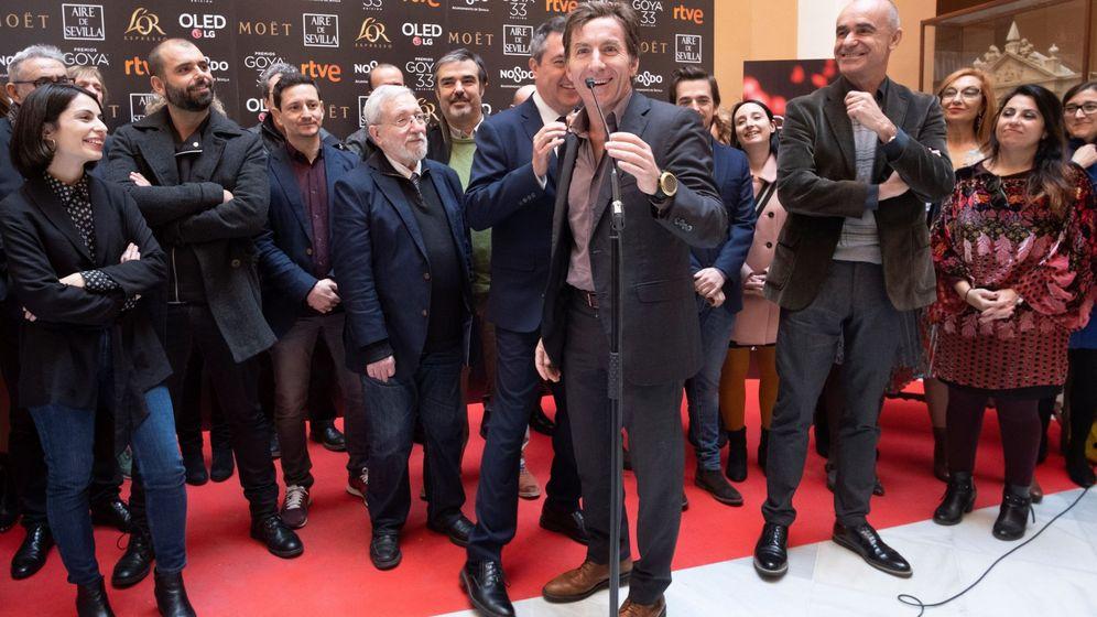Foto: Antonio de la Torre, nominado a los premios Goya 2019, en un acto el pasado viernes en el Ayuntamiento de Sevilla (EFE).