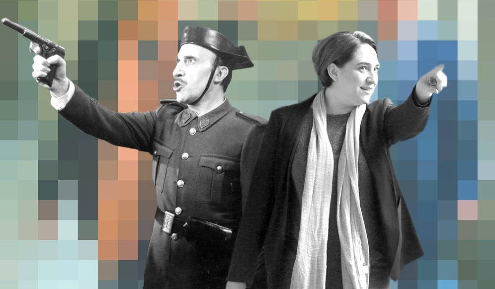 Foto: Saza y Colau (Montaje: Carmen Castellón)