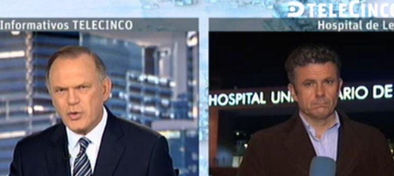 Foto: Roberto Arce, de la primera línea de Cuatro a nuevo reportero de Telecinco