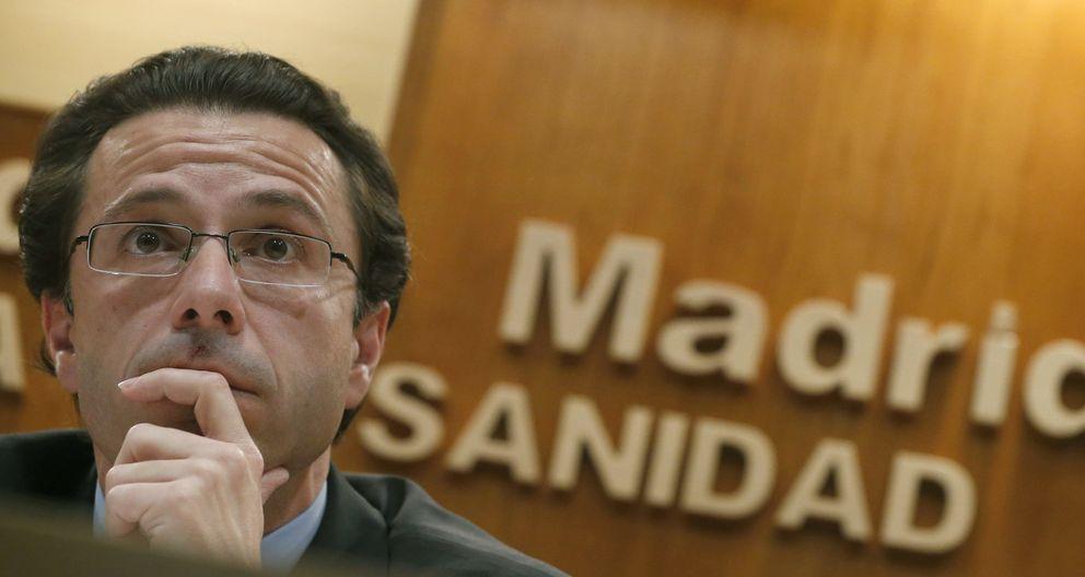 El consejero de Sanidad de la Comunidad de Madrid, Javier Fernández-Lasquetty. (EFE)