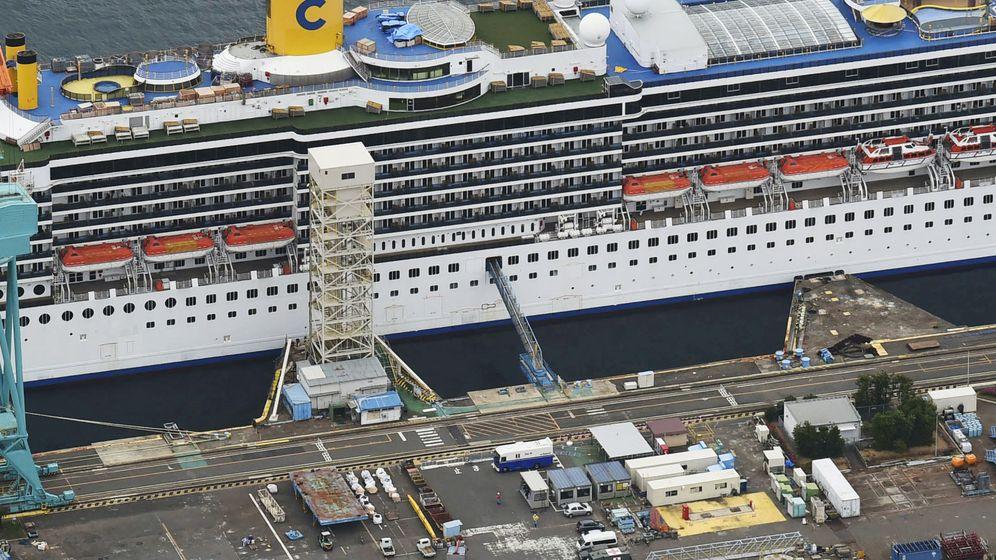 Foto: Costa Atlantica en Nagasaki (Reuters)