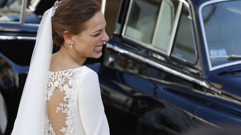 Foto: Eva González, tras su boda con Cayetano Rivera (Gtres)