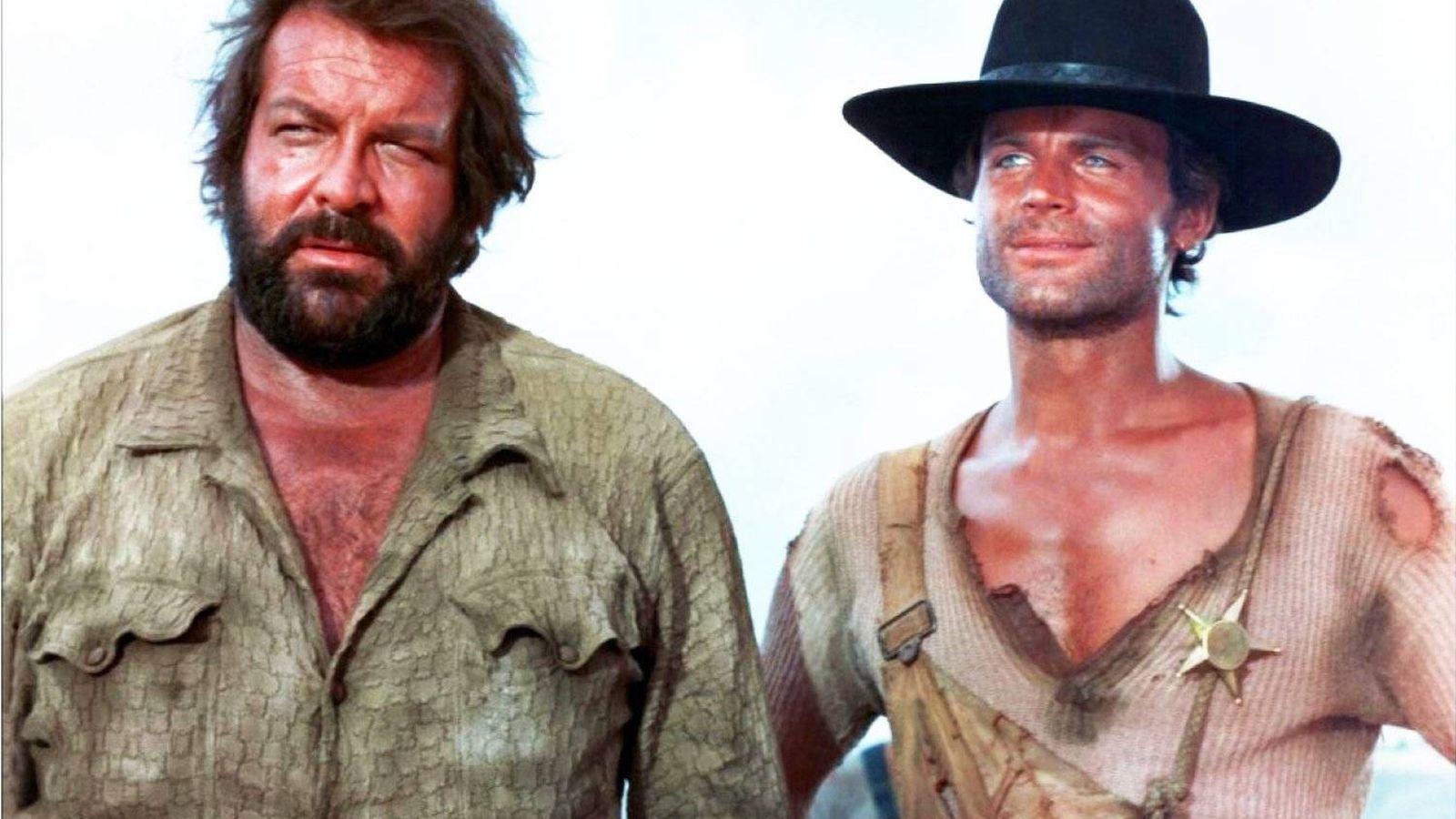 Foto: Bud Spencer y Terence Hill, icono del cine de mamporros