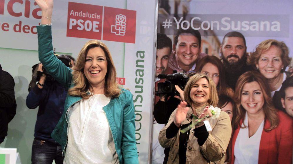 Foto: La candidata del PSOE a la Presidencia de la Junta de Andalucía, Susana Díaz. (Efe)