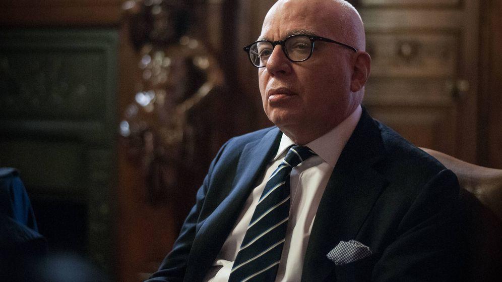 Foto: El periodista y empresario, durante su visita a España. (Foto: Carmen Castellón)