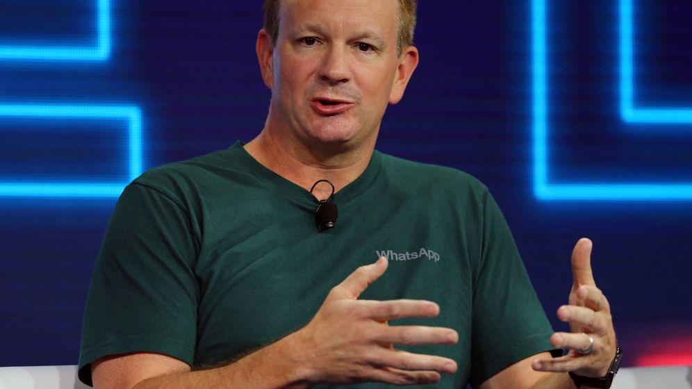 Foto: El cofundador de WhatsApp Brian Acton. (Reuters)