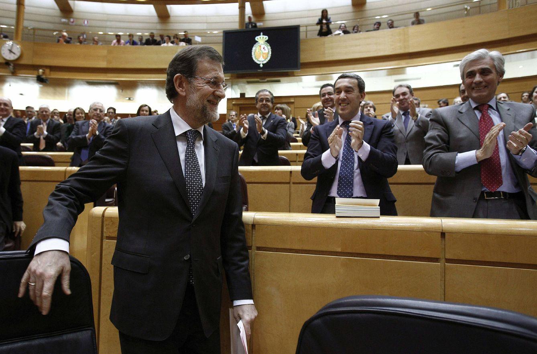 Sesión de control en el Senado. (EFE)