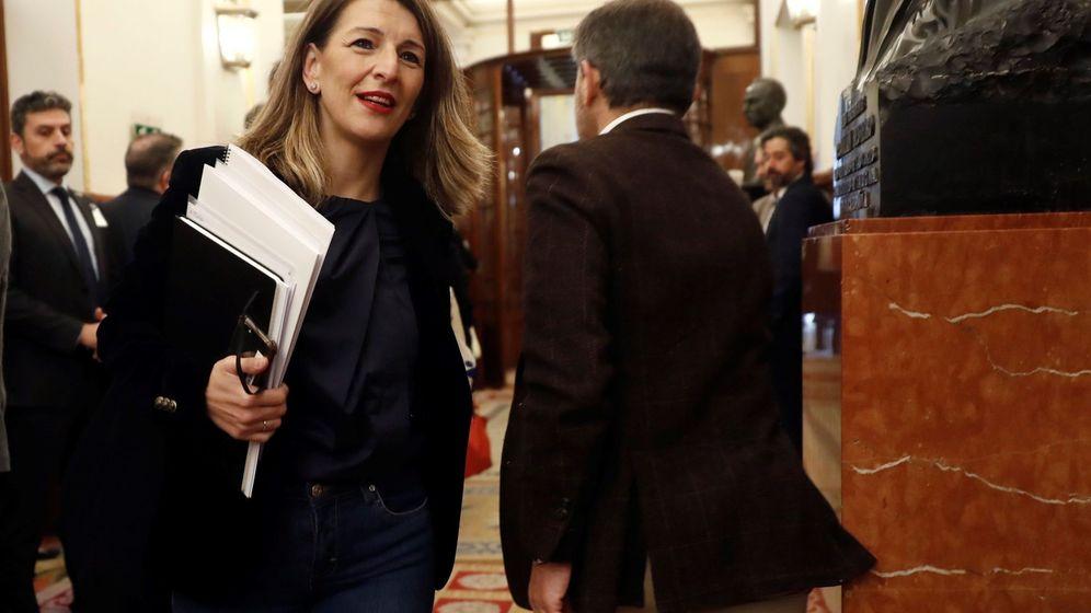 Foto: La ministra de Trabajo, Yolanda Díaz, en una imagen de archivo. (Efe)