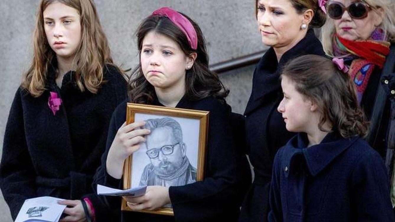 Marta Luisa de Noruega cuenta la tristeza de sus hijas tras el suicidio de su padre