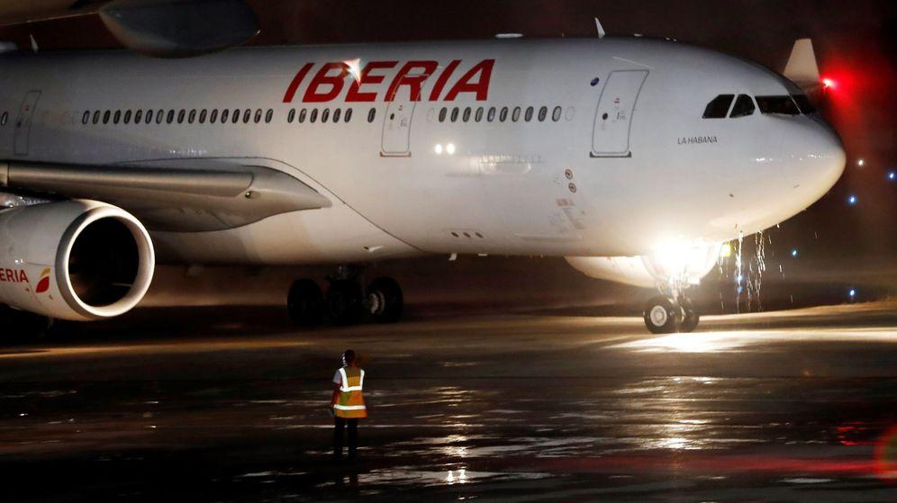 Foto: Avión de Iberia, en una imagen de archivo. (EFE)