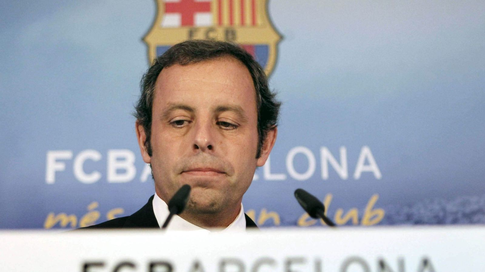 Foto: El expresidente del FC Barcelona Sandro Rosell. (EFE)